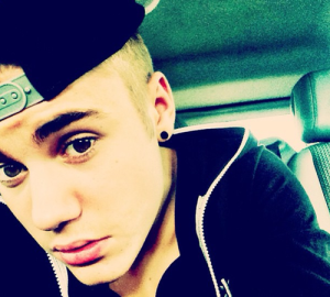 One of many Selfies posted by Justin Bieber to his Instagram account. Source: http://bit.ly/1onXEHk