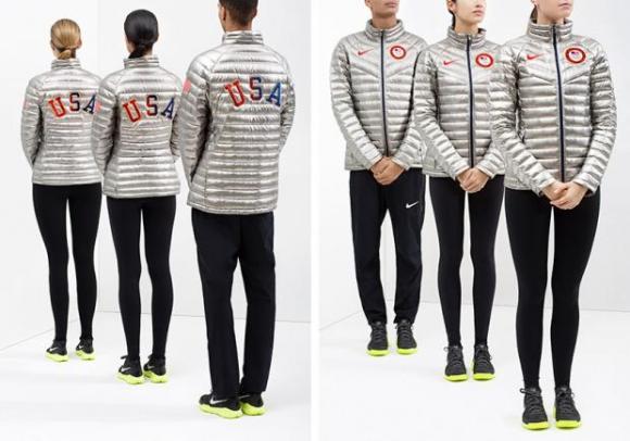 Nike's Team USA Podium Jackets. (Photo Credit: Nike)