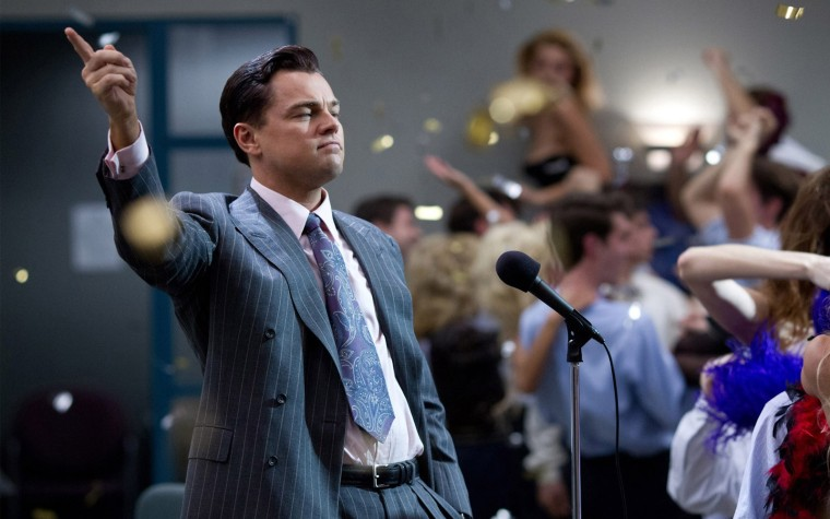 Leonardo DiCaprio as Jordan Belfort in 'The Wolf of Wall Street.' (Photo Credit: R/R)